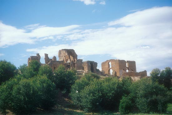 Vous visionnez les images de l'article : Villa des Quintili